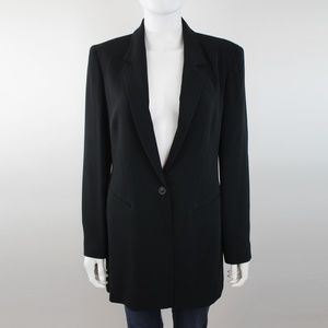 Emanuel Ungaro Button Front Suit Blazer Jacket